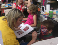 Sports Tour Fundraising - Face Painting